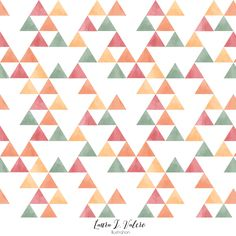 Motivo triangulos (I)