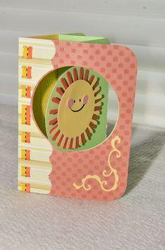 Sunshine swing card