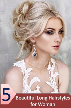 5 easy long hairstyles idea to look sexy and beautiful and be the object of discussion in any occasion, choose the best style for you.