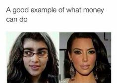 What money can do