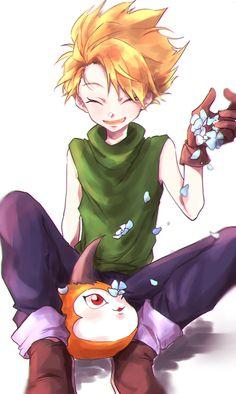 Matt and Tsunamon Digimon 02, Digimon Seasons, Digimon Tamers, Digimon Adventure Tri, Ocelot, Ghibli, Chevy Trucks, Anime Guys, Manga Anime