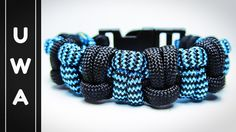 How to make the Modified Half Hitch Paracord Survival Bracelet [With Buc...