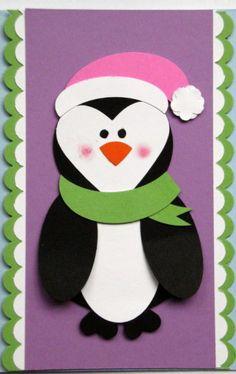 penguin punch art - bjl  Stampin' Up!