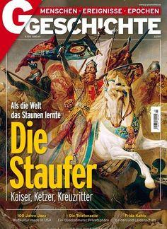 Die #Staufer Als die Welt das Staunen lernte Jetzt in @GGeschichte:  #Geschichte #Mittelalter #Geschichte #Barbarossa