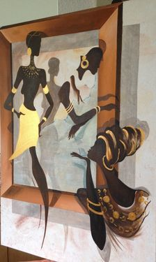 "Saatchi Art Artist Eka Peradze; Painting, ""SOLD. Eka Peradze. 3D Painting.#98"" #art"