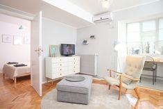 mini-ap-magheru_annterior_designist15 Bucharest, Apartment Interior, New Homes, Dining, Interior Design, Bedroom, Apartments, House, Interiors