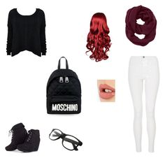 """""""First Day"""" by ashlee-borst on Polyvore featuring Quiz, Athleta, Charlotte Tilbury and Moschino"""