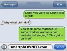 Funny Drunk Quotes, Funny Drunk Texts, Funny Text Messages Fails, Text Message Fails, Funny Texts Jokes, Funny Texts Crush, Text Jokes, Drunk Humor, Funny Quotes For Teens
