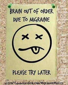 Taking Pills To Deal With Headaches – Headache And Migraine Relief Today Migraine Pain, Chronic Migraines, Migraine Relief, Chronic Illness, Chronic Pain, Complex Migraine, Migraine Attack, Endometriosis, Migraine Quotes