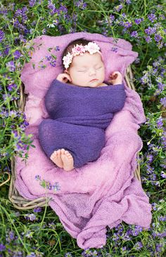 Outdoor Newborn Photo Session