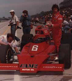 Mario Andretti Penske CAM2 McLaren M16D Indy 500 1976