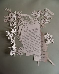 A tutorial on how to make this elegant Thank You note. via craftstylish.com