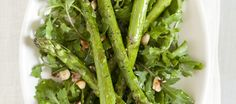 Roasted Asparagus Salad with Arugula, Hazelnuts, Olive Oil, Sea Salt and Black Pepper. Cooking Wild Rice, Cooking Whole Chicken, Cooking Beets, Cooking Oil, Cooking Light, Cooking Crab Legs, Cooking Salmon, Cooking Scallops, How To Cook Zucchini
