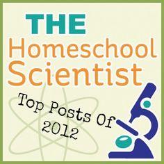 homeschool scientist top posts of 2012