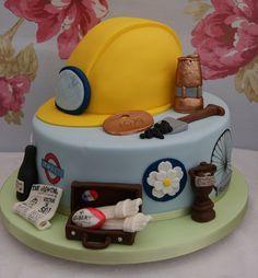Miner's Helmet Cake | Flickr - Photo Sharing!