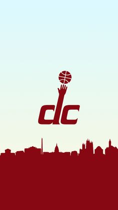 Basketball Wallpaper in a Skyline, it's a free Washington Wizards phone wallpaper. Washington Wizards, Wizards Basketball, Nba Basketball Teams, Sports Teams, Nba Wallpapers, Desktop, 1, Netball
