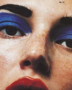 toooth:    Model: Bridget Hall  Photo by David Sims (The Face)
