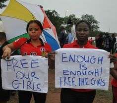 """#BringBackOurGirls: Relatives Of Kidnapped Nigerian School Girls Say They've Been Sold As """"Brides"""" To Militants For $12"""
