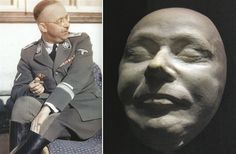 Heinrich Himmler (1900-1945) – cause of death: suicide by cyanide poisoning; aged 44.