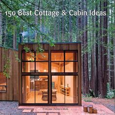 Best Ideas For Modern House Design & Architecture : – Picture : – Description Sea Ranch Cabin by Frank / Architects Modern Small House Design, Tiny House Design, Small Cabin Designs, Small Modern Cabin, Contemporary Cabin, Loft Design, Contemporary Design, Sea Ranch, Casas Containers