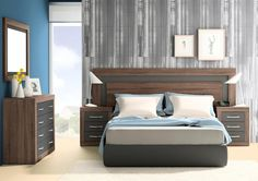 The villa project 5 rooms 495 square meters two floors – housing – Designs Ideas Bed Headboard Design, Bedroom Door Design, Luxury Bedroom Design, Bedroom Furniture Design, Home Room Design, Bed Furniture, Bedroom Layouts, Bedroom Sets, Bedding Sets