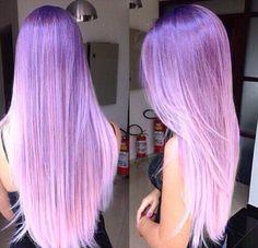 Hair Cabello morado lila