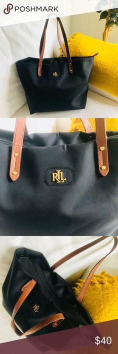 Ralph Lauren Bainbridge Shopper Tote Bag Ralph Lauren Bainbridge Shopper  Tote in good condition. Great 7a09fa8753301
