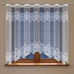 Záclona kusová Evelina 135 x 450 cm Valance Curtains, Home Decor, Blinds, Decoration Home, Room Decor, Home Interior Design, Valence Curtains, Home Decoration, Interior Design