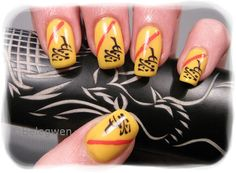 Nail Art by Belegwen: Leffakynnet..