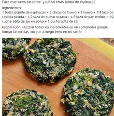 receta espinacas tortitas