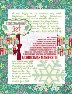 Christmas Manifesto