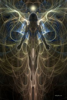 Aaron: The idea of sensing auras is amazing. Being able to see the flow of energy moving in someone else's body. It's an art. Psychedelic Art, Art Visionnaire, Psy Art, Visionary Art, Angel Art, Divine Feminine, Sacred Geometry, Mystic, Fantasy Art