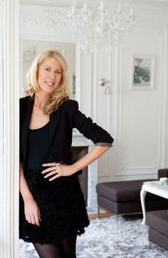 Kerrie Hess, fashion illustrator and sister to Megan Hess.