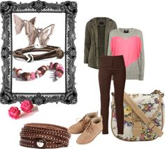 """Casual Valentine's"" by mytrollbeads on Polyvore"