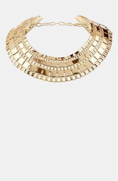 Topshop Chunky Box Collar Necklace available at #Nordstrom