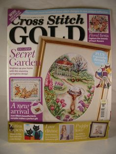 Cross Stitch Gold Magazine Issue 36 2006 Playful Pussy Cats Divine Beauty