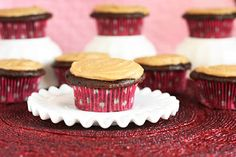 Moist Lightened Up Chocolate Cupcakes with Penuche Frosting - Cooking Classy