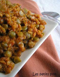 Daal de lentilles corail aux pois cassés, la recette d'Ôdélices : retrouvez les ingrédients, la préparation, des recettes similaires et des photos qui donnent envie !