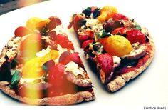 Lemon- Oregano Salmon with Roasted Tomatoes | Roasted Tomatoes, Salmon ...
