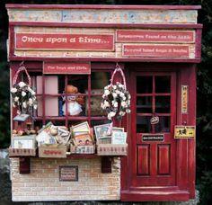 Miniature toy shop