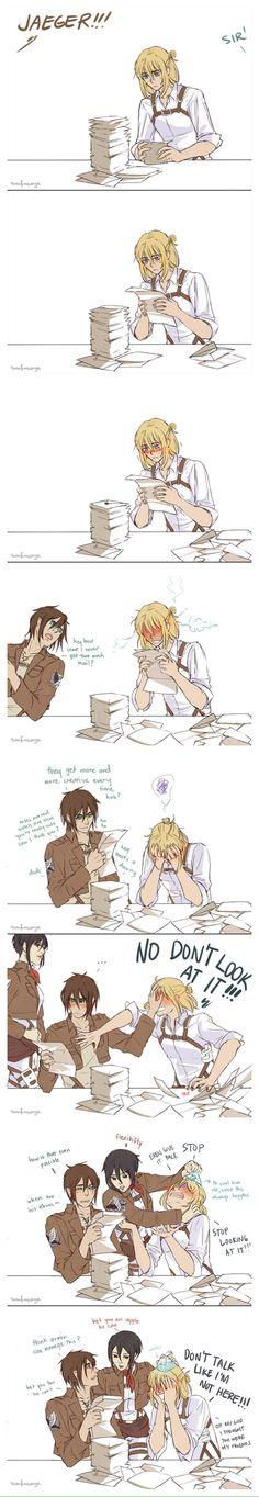 Haha.. Poor Armin..