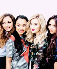 Little Mix together in 2014 - we love these girls!