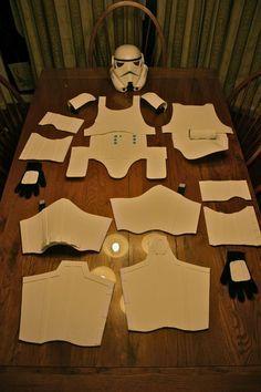 Homemade stormtrooper