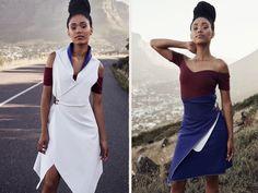 Madame KUKLA Kleid Varianten Möglichkeiten Rock Shoulder Dress, One Shoulder, Mode Inspiration, Convertible, Rock, Outfits, Clothes, Dresses, Design