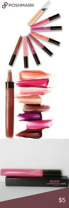 mark. Juice Gems High Shine Lip Gloss High shine lip gloss that leaves lips feeling moisturized and conditioned.  This color is Cherry Bomb. Avon Makeup Lip Balm & Gloss