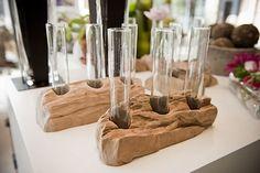 Idées de déco avec des vases en tubes à essai   BricoBistro
