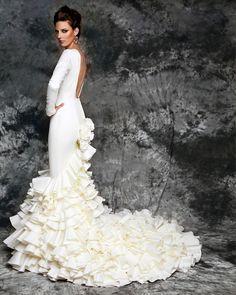 Vestido de Novia Vicky Martin Berrocal Novias Modelo Victoria