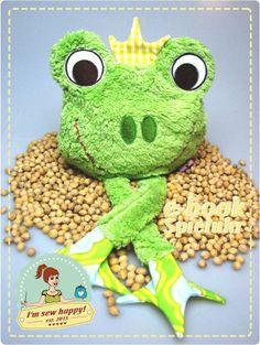 E-Book Spieluhr und Körnerkissen Frosch - Schnittmuster und Nähanleitungen bei Makerist