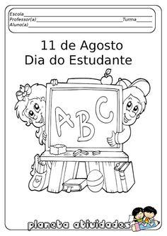 PLANETA ATIVIDADES: Atividades sobre o dia do estudante! Para imprimir