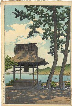 Japanese Art Prints, Japanese Drawings, Japanese Artwork, Japanese Painting, Japon Illustration, Japanese Illustration, Landscape Illustration, Art Du Monde, Art Japonais